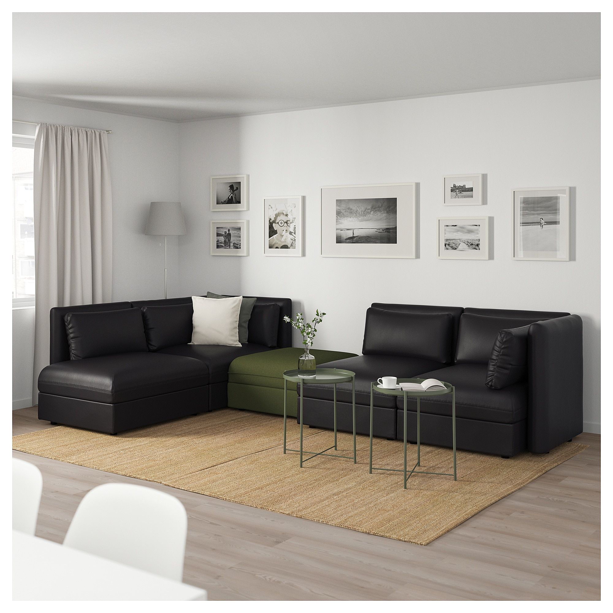 Vallentuna 4 Seat Modular Sofa With 3 Beds Ikea Vallentuna Modular Corner Sofa 4 Seat With Storage In