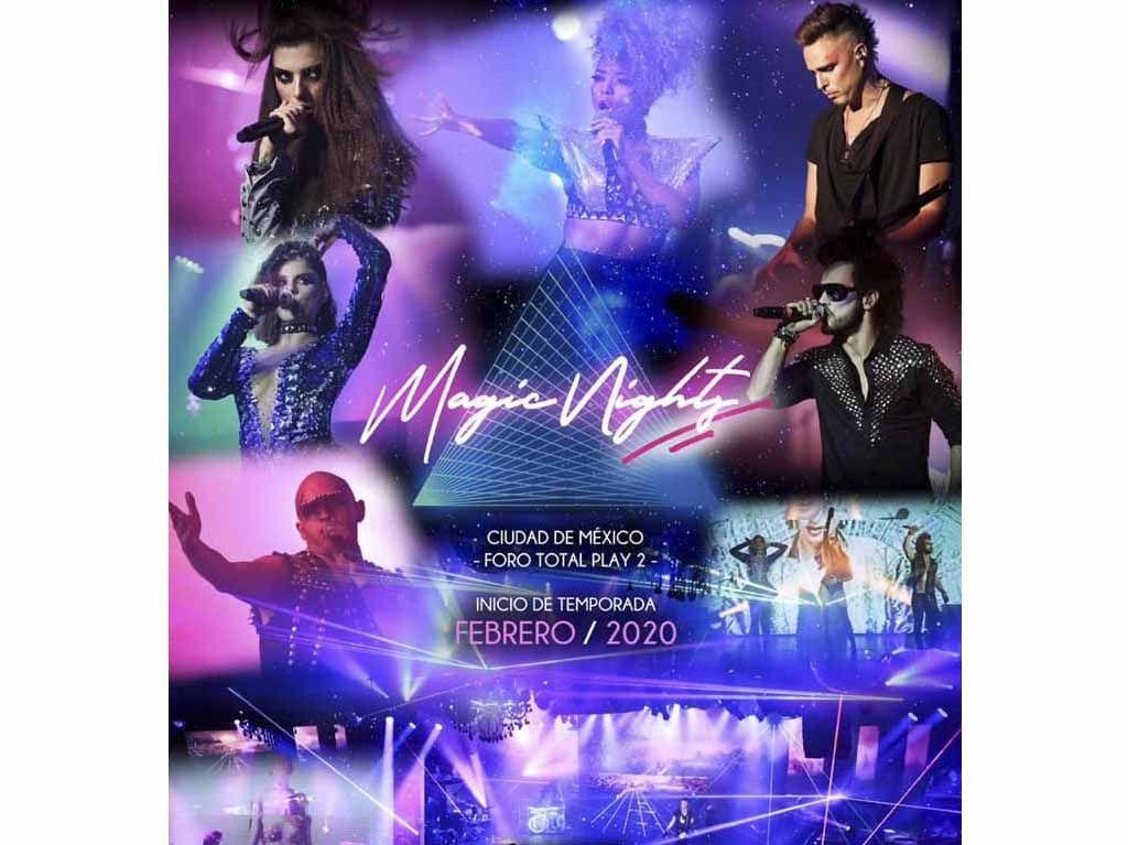 Magic Nights Show En Vivo Con Música New Wave De Los 80 Dónde Ir Tu Guía De La Ciudad De México Qué Hacer Hoy Ciudad De México Musica Concierto