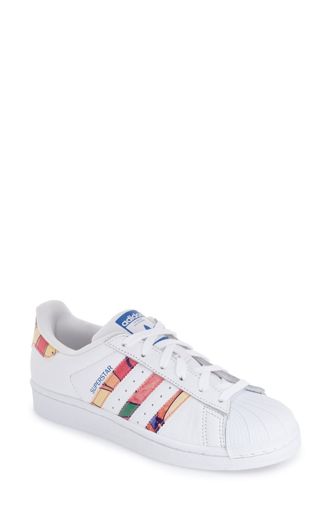 size 40 39818 e26d7 adidas 'Superstar' Print Sneaker (Women) available at ...