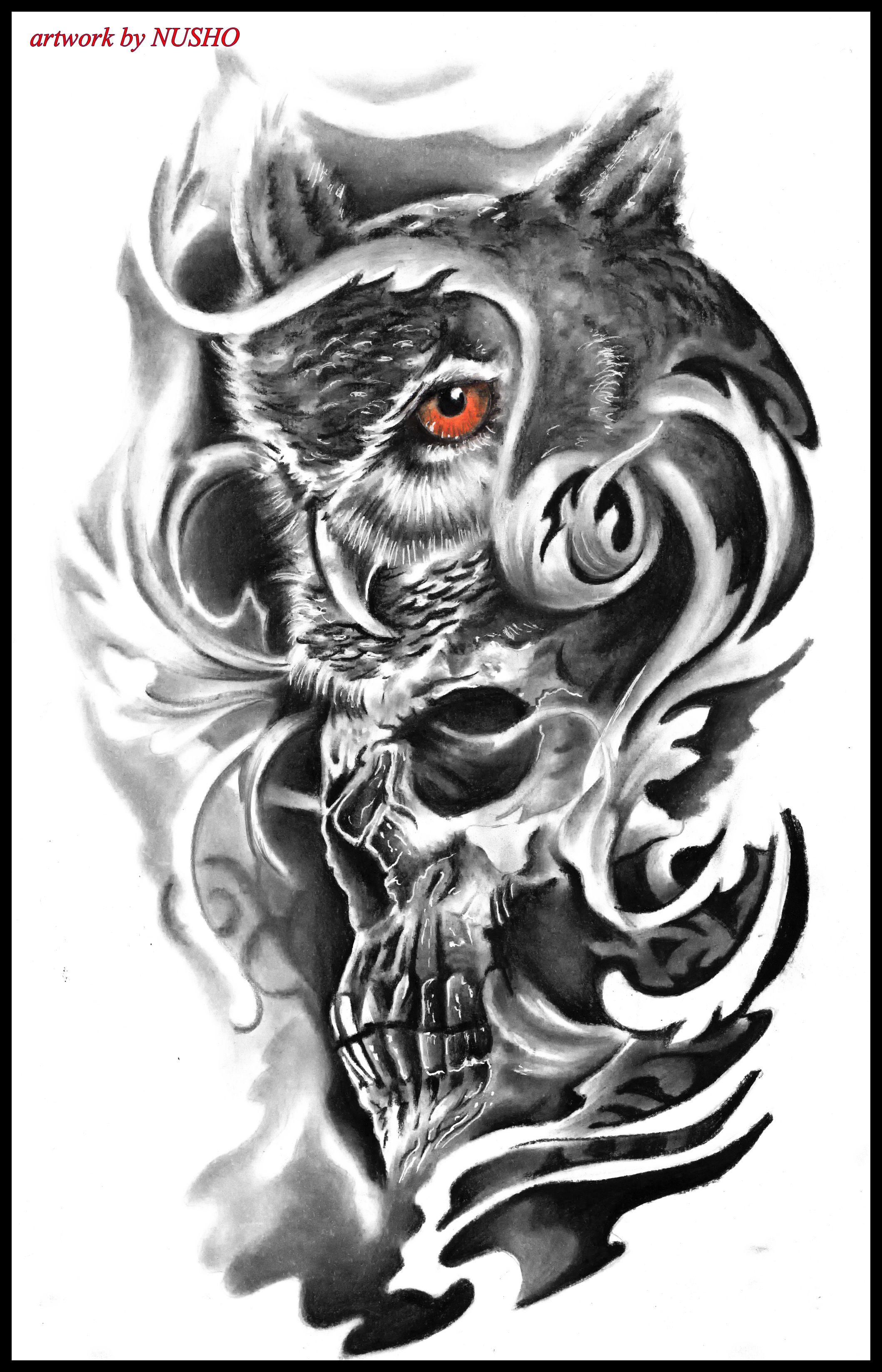 Pin By Gilberto Bernardo On Artz Owl Skull Tattoos Lion Head Tattoos Owl Tattoo Design