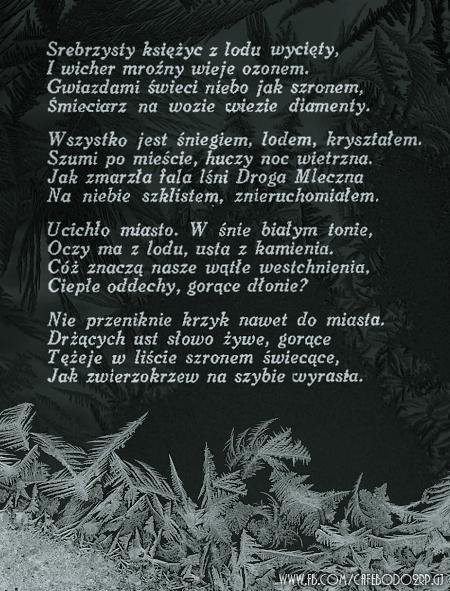Mróz Antoni Słonimski Na Stylowipl Wiersze Cytaty Myśli