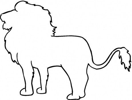Lion Outline Coloring Page Animal Outline Outline Drawings Easy Animal Drawings Here presented 33+ lion outline drawing images for free to download, print or share. lion outline coloring page animal