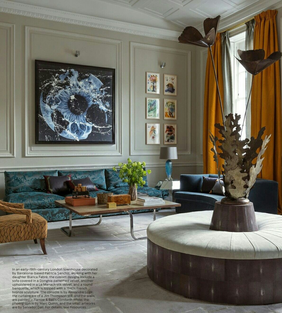 elle decor interior design by patricia sanchiz blanca fabre ...