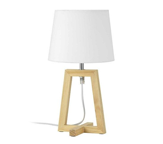 Lampe A Poser Laurie Naturel For Bill Tripod Lamp Desk New Homes