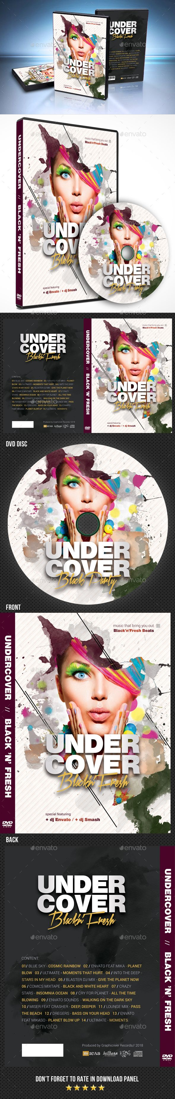 undercover dvd cover design template psd download here https