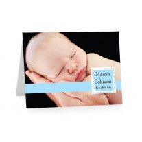 how to make birth announcement cards