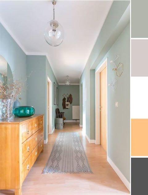 inspiration couloir vert d 39 eau vert pinterest vert le dor et les prunes. Black Bedroom Furniture Sets. Home Design Ideas
