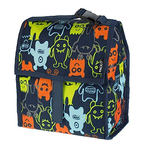 Kids Lunch Bags T Freezable Bag With Zip Closure Monsters 20 Read More Reviews Of The Product By Visiting Link On Image
