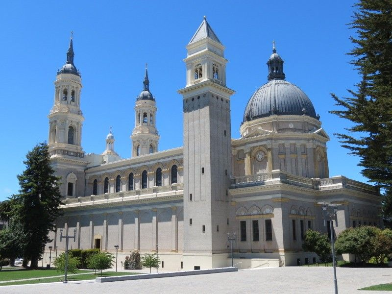 University Of San Fransisco >> Cathedral On University Of San Francisco Campus The Campus In 2019