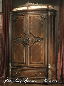 72080t 55 Aico Furniture Villa Valencia Bedroom Furniture Armoires  #BedroomFurnitureArmoire