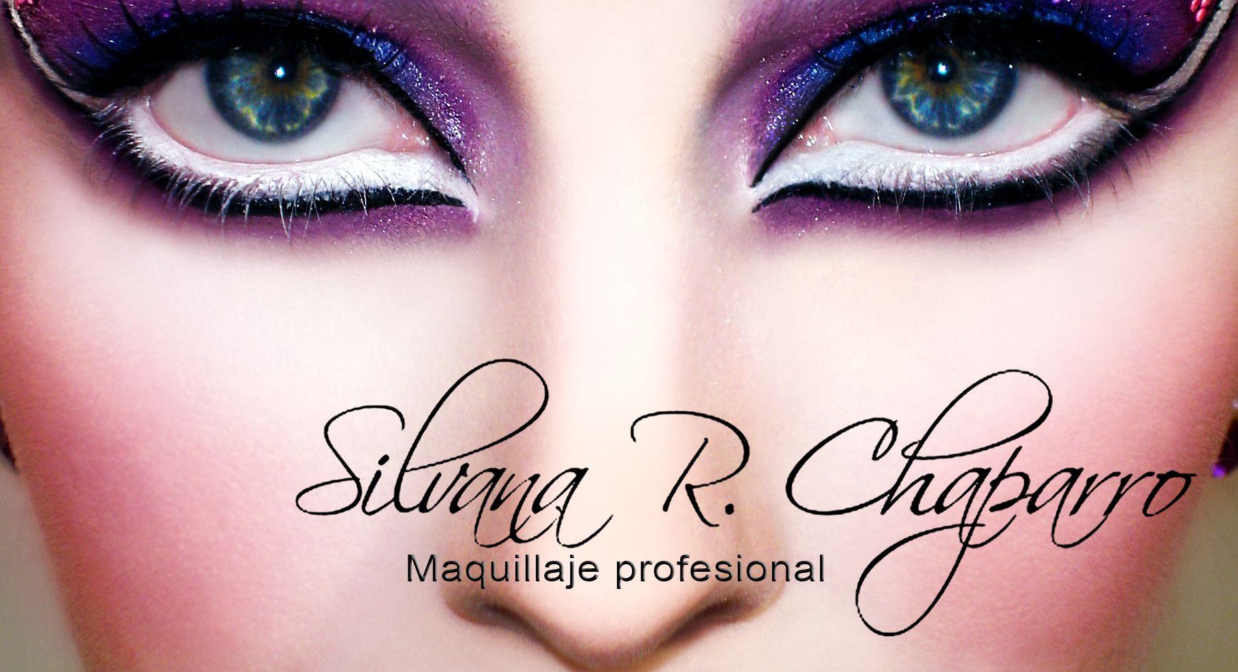 Maquillaje artistico www.facebook.com/silvanarocio.chaparro #art #make up #purple #blue #pink #blue eyes