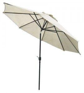 coolaroo 11 feet round patio cantilever umbrella umbrella for