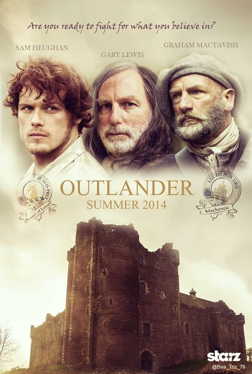 """""""Are you ready to fight for what you believe in?"""" (Outlander fan poster - men version)"""