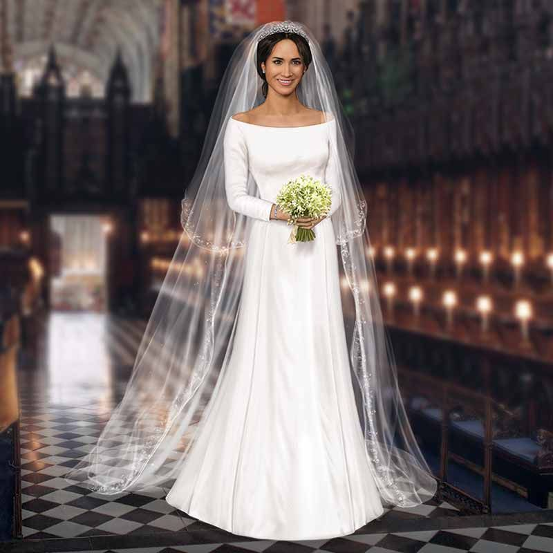 Megan Wedding Dress: Princess Meghan Bride Doll In 2019