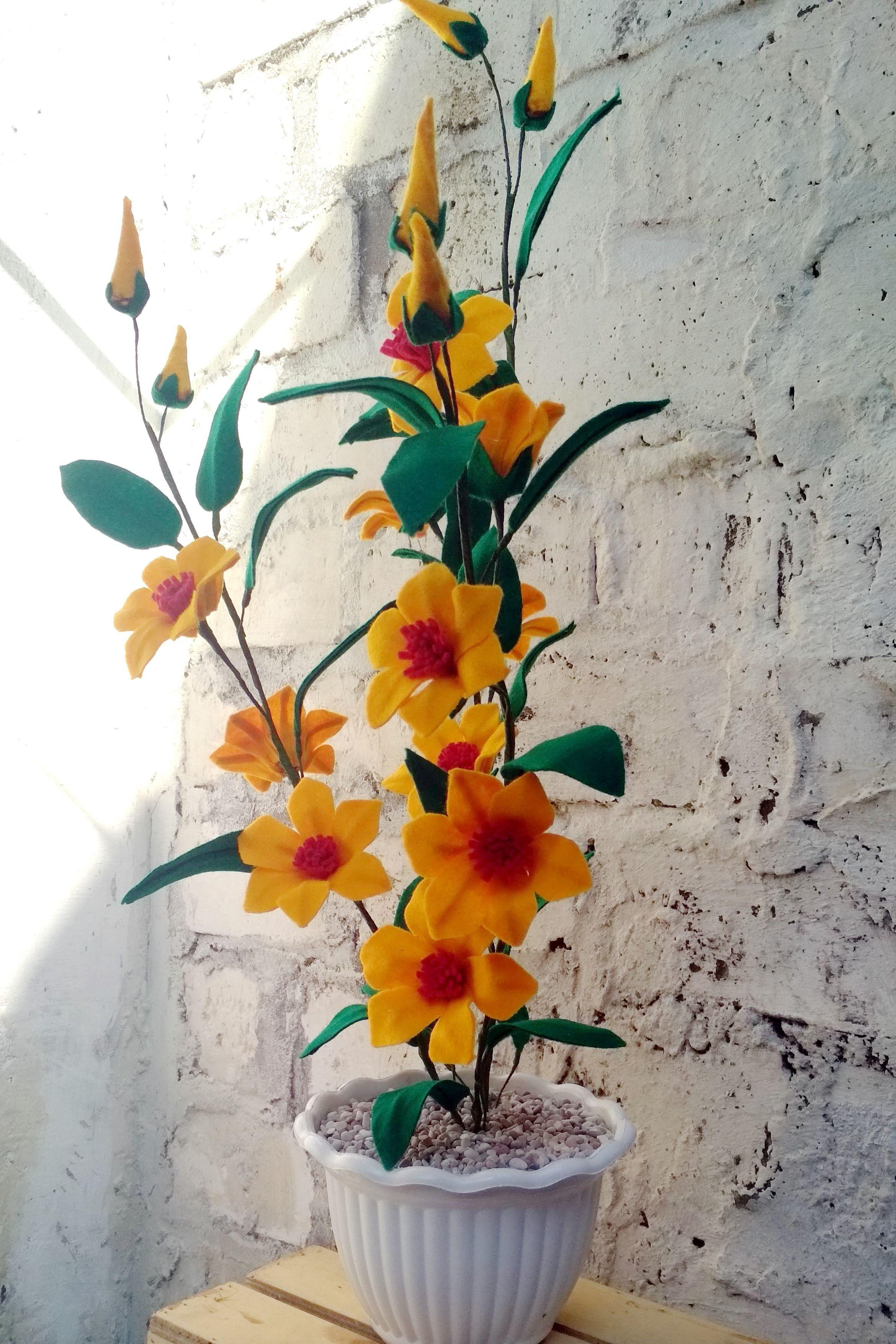 Dekorasi Bunga Hiasan Ruang Tamu