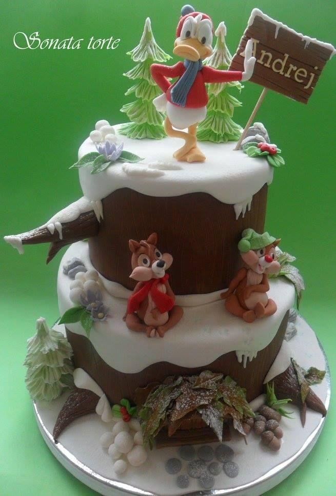 Pin von Ирина auf Детские торты