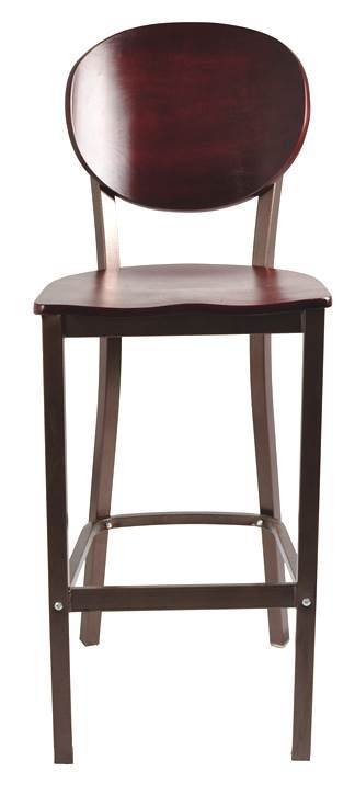Fresh Wooden Stools with Back