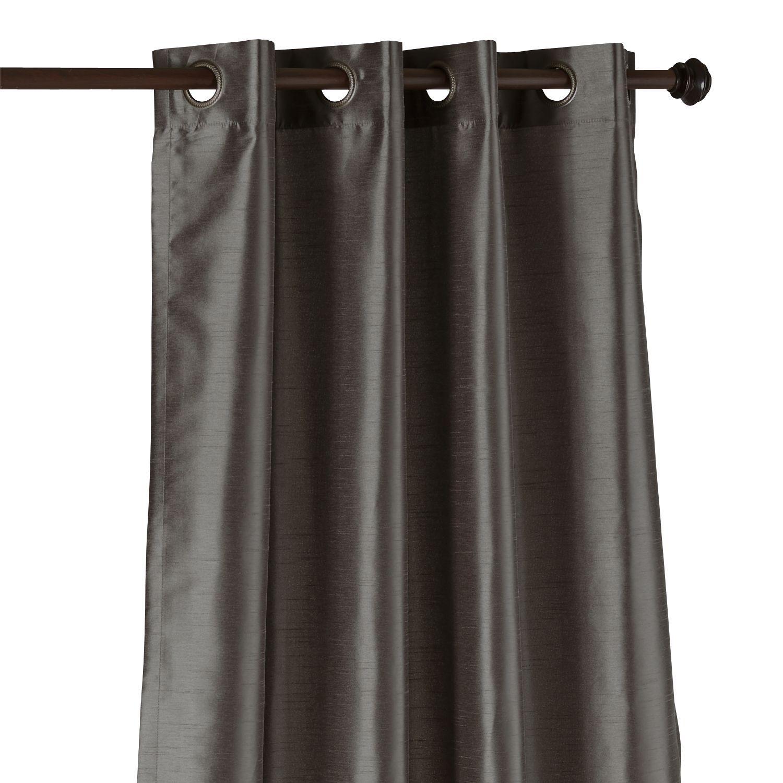 Hamilton Curtain - Charcoal 84
