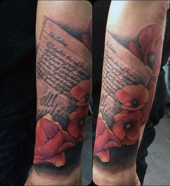 100 Military Tattoos For Men Memorial War Solider Designs Tattoo