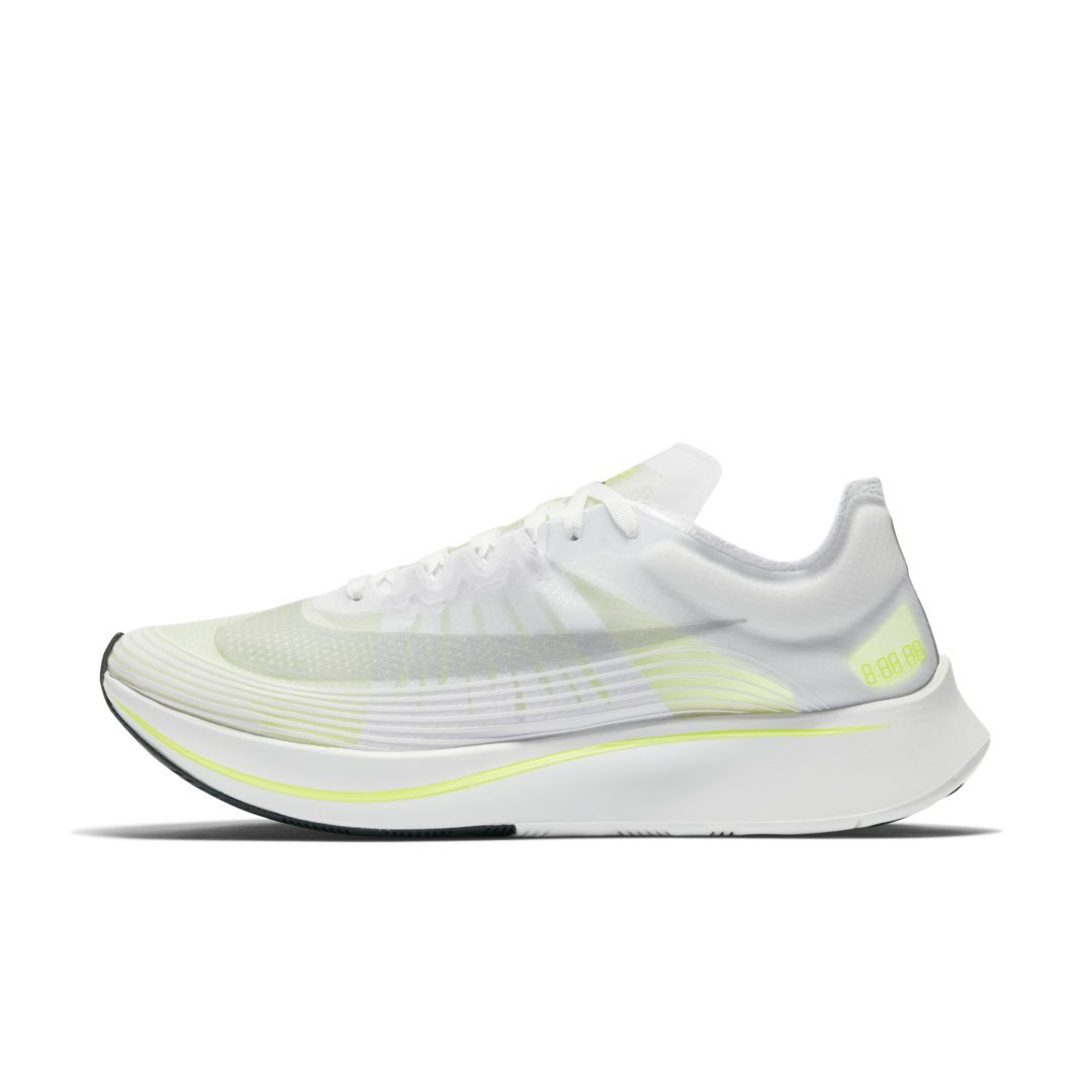 c05fda87225415 Nike Zoom Fly SP Unisex Running Shoe Size 8 (White)