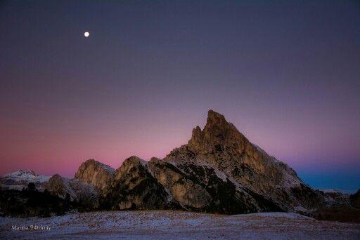 passo Falzarego | Sass de Stria | alba | inverno | neve | colori | shooting | novembre |