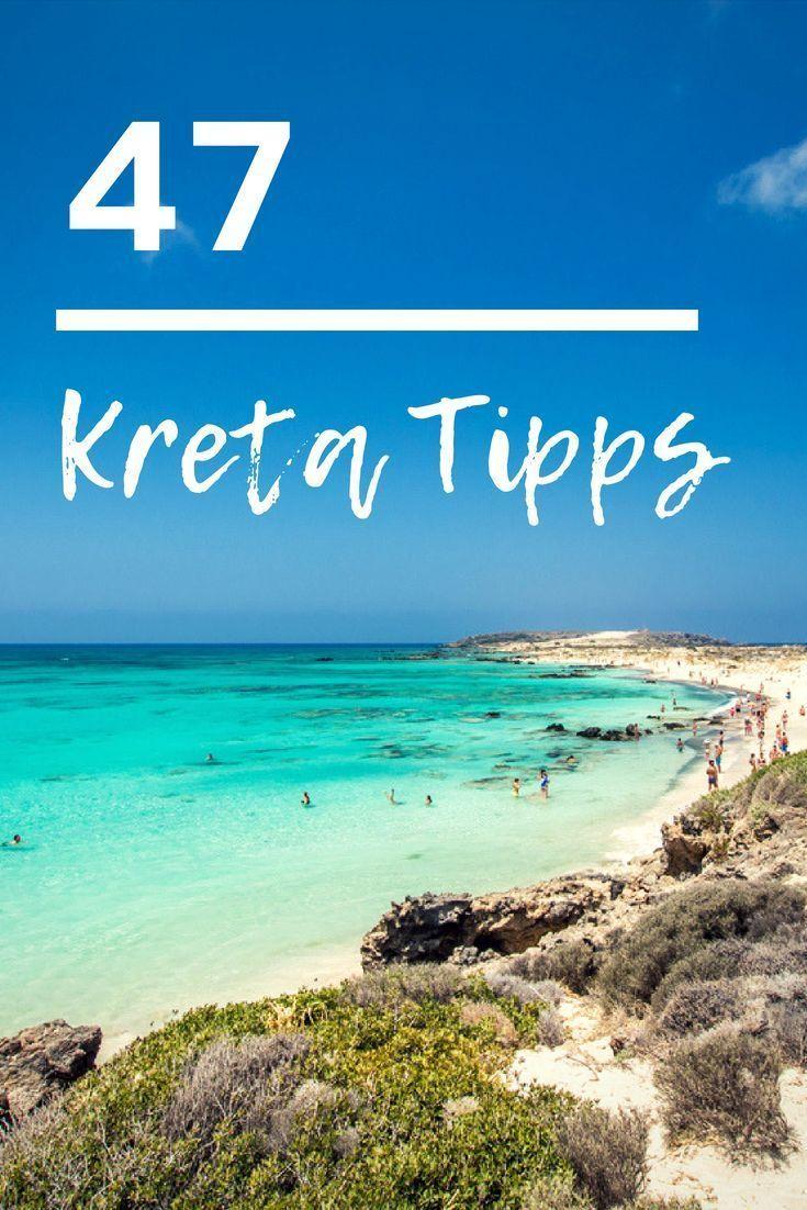 Hier haben wir 47 Kreta Tipps für euch gesammelt. Ihr sucht noch Inspiration für euren Kreta Urlaub? Dann checkt mal die beliebstesten Sehenswürdigkeiten auf der Mittelmeerinsel. #kreta #urlaub #inspiration #reise #griechenland
