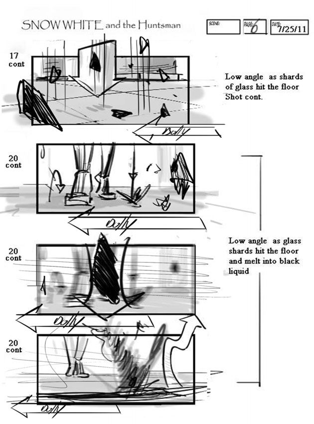 15 Movie Storyboards See the Early Conceptions of Your Favorite - sample script storyboard