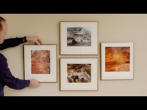 How to hang a level picture gallery walls and a family picture collage hang