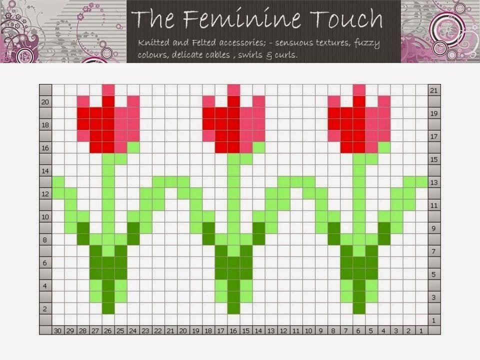 The Feminine Touch | UK Knitting / Felting blog: 4 Free ... | رسوم ...