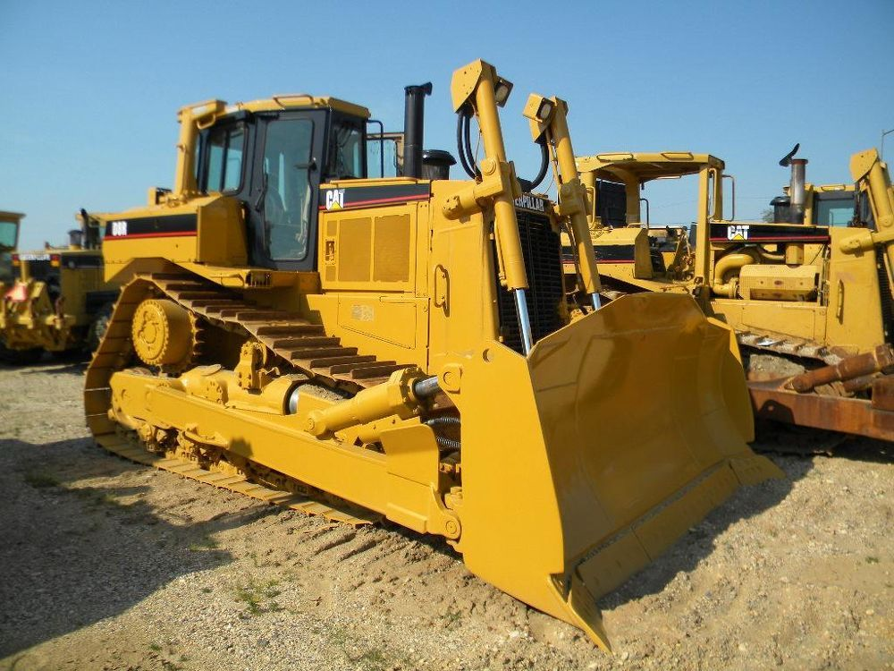 Caterpillar D8R Crawler Dozers for Sale :: Construction