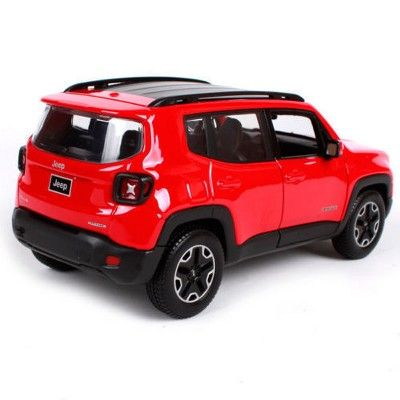 Jeep Renegade Red 1 24 Diecast Model Car By Maisto