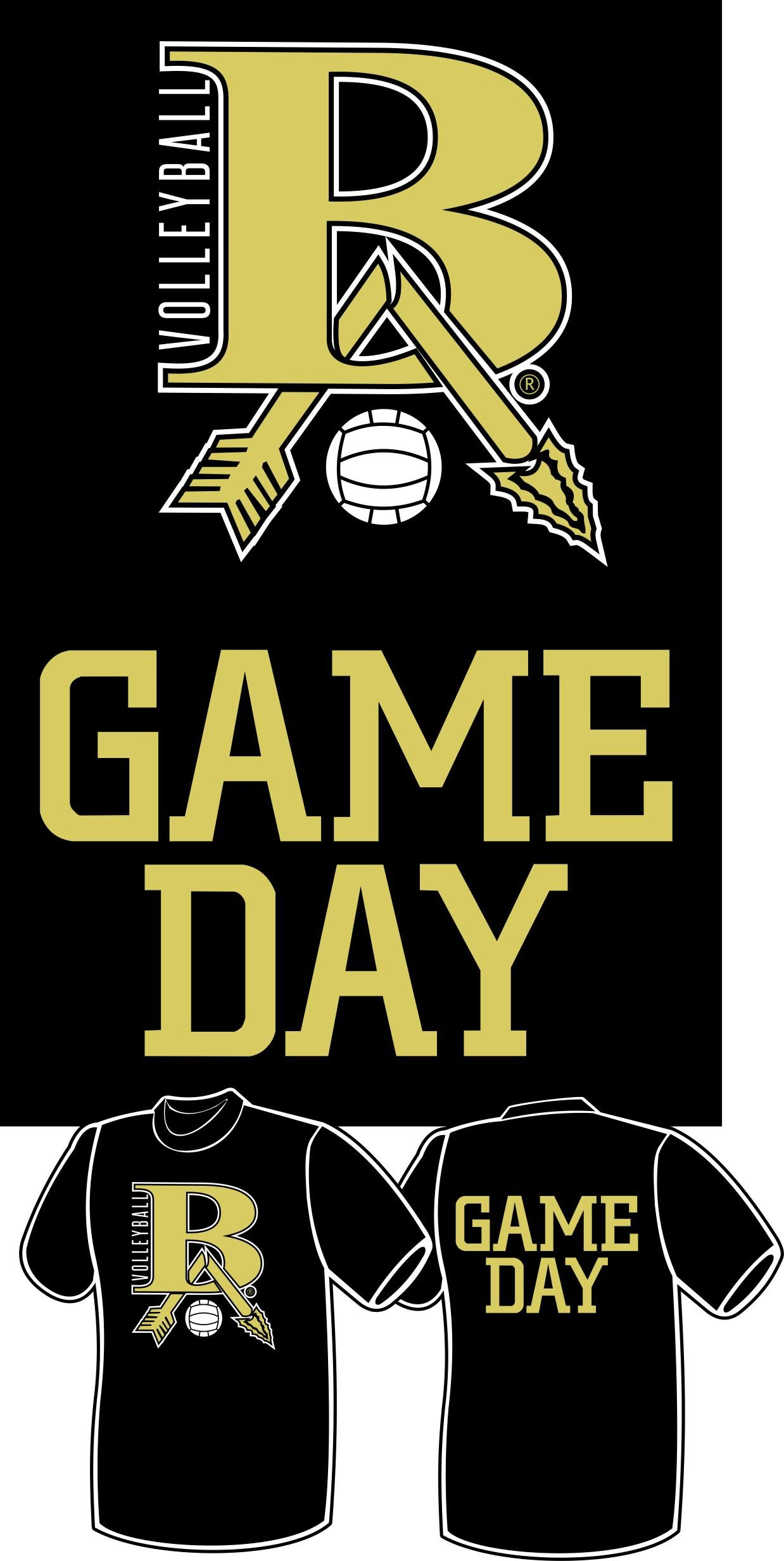 Broken Arrow Volleyball Game Day Shirt For Players And Coaches