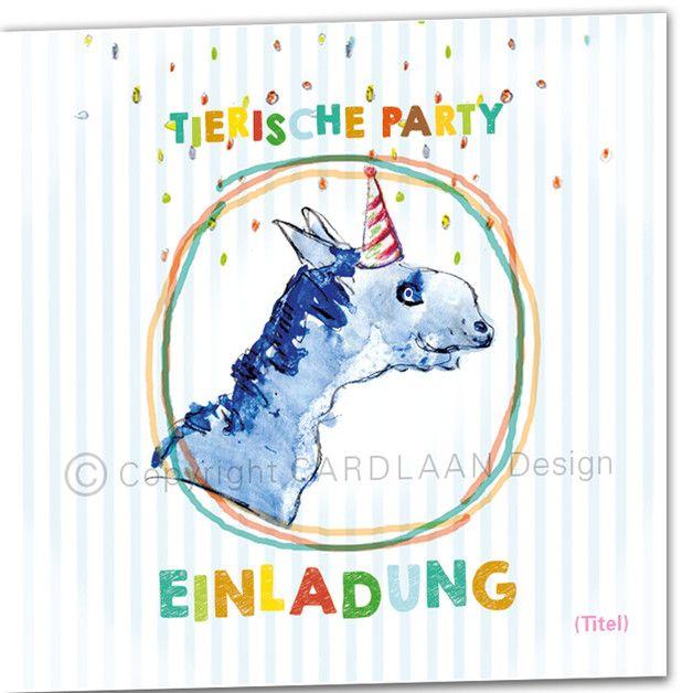 süße einladung kindergeburtstag, lustige einladungen, Einladungen
