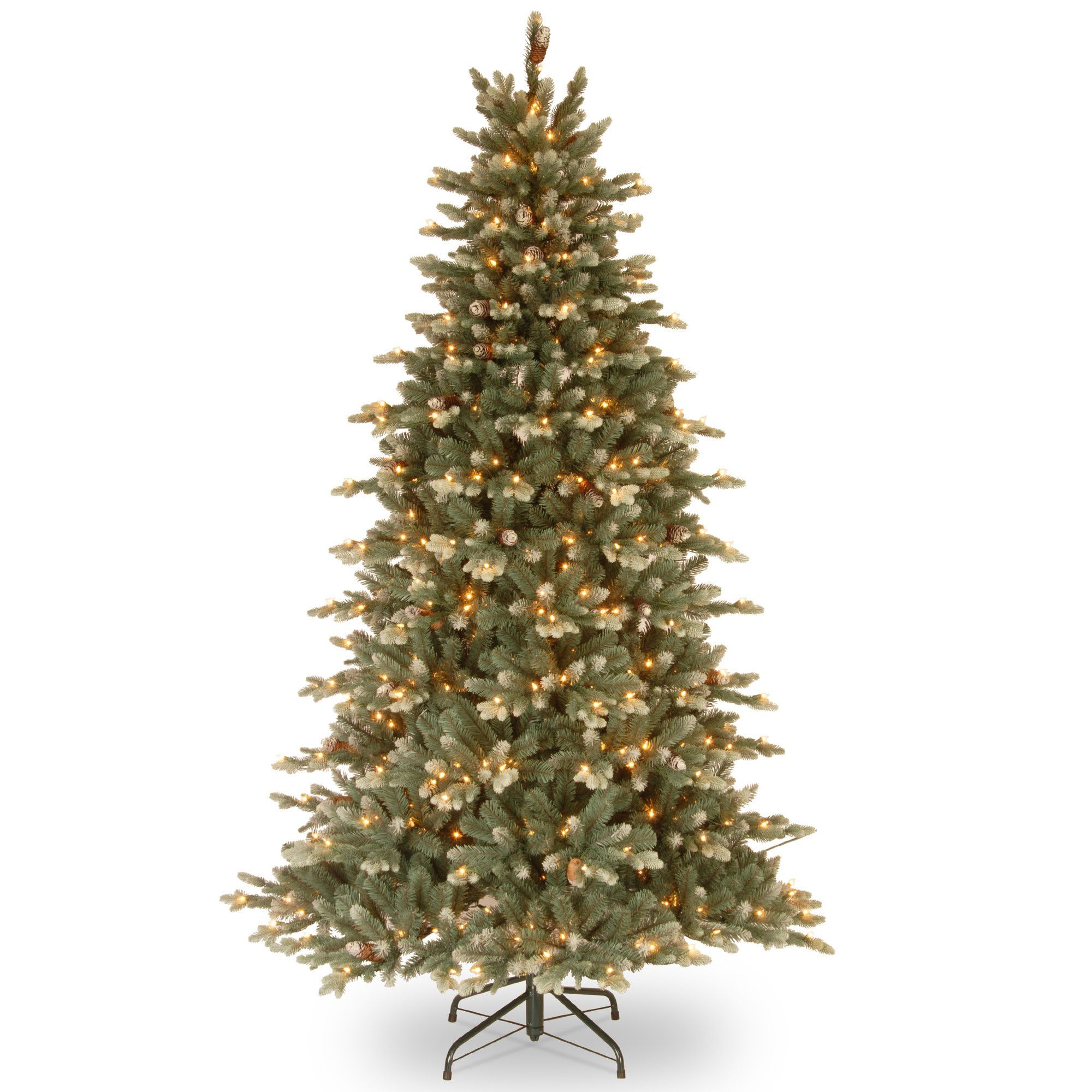 Copenhagen 7 5 Spruce Artificial Christmas Tree with 600 Clear