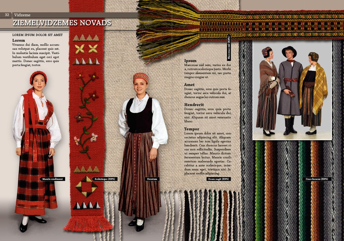 Ziemeļvidzeme Folk costume, Flapper dress, Fashion