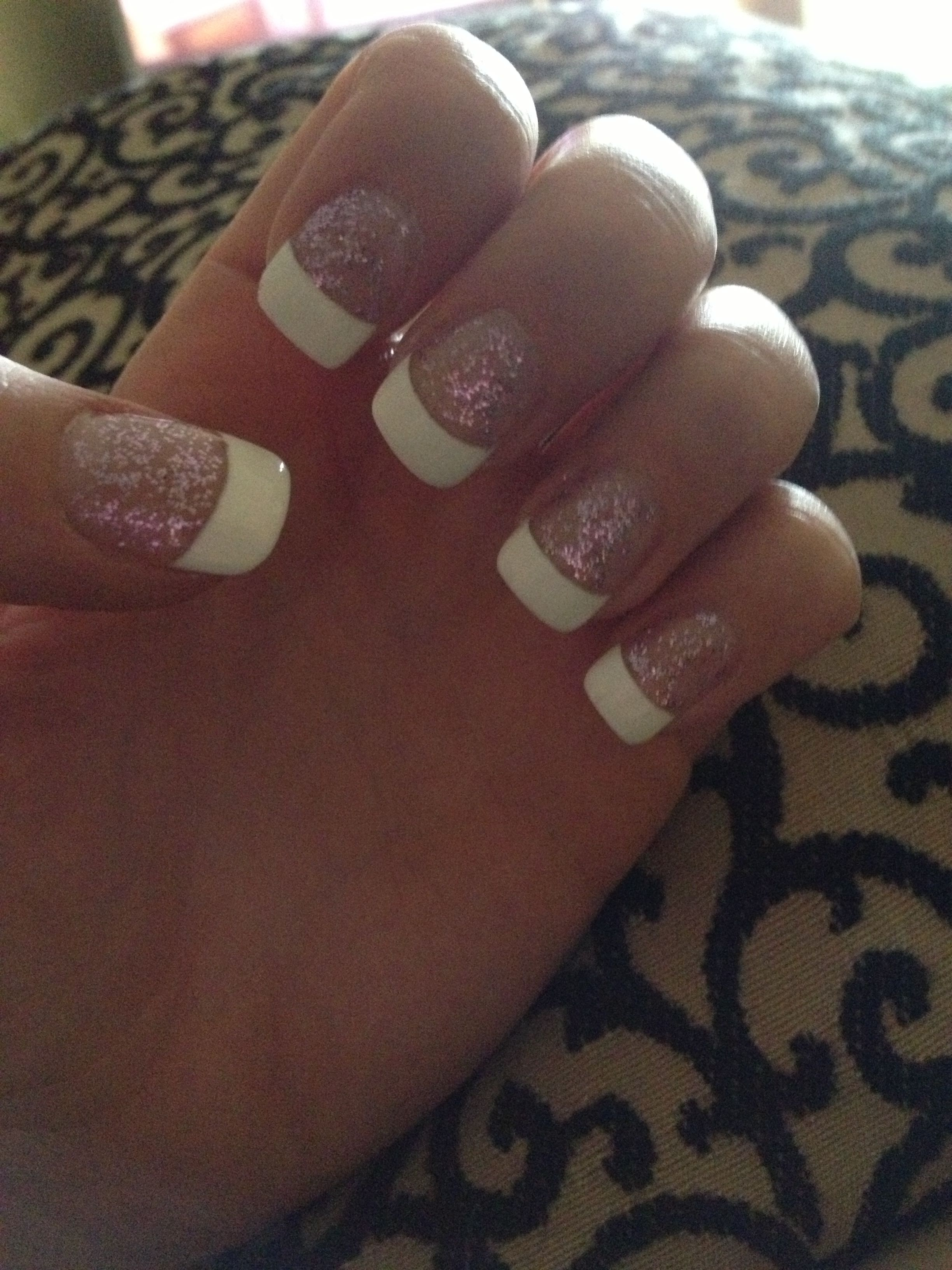 desktop diy wedding nails of androids hd pics french tip acrylic with purple sparkles beauty