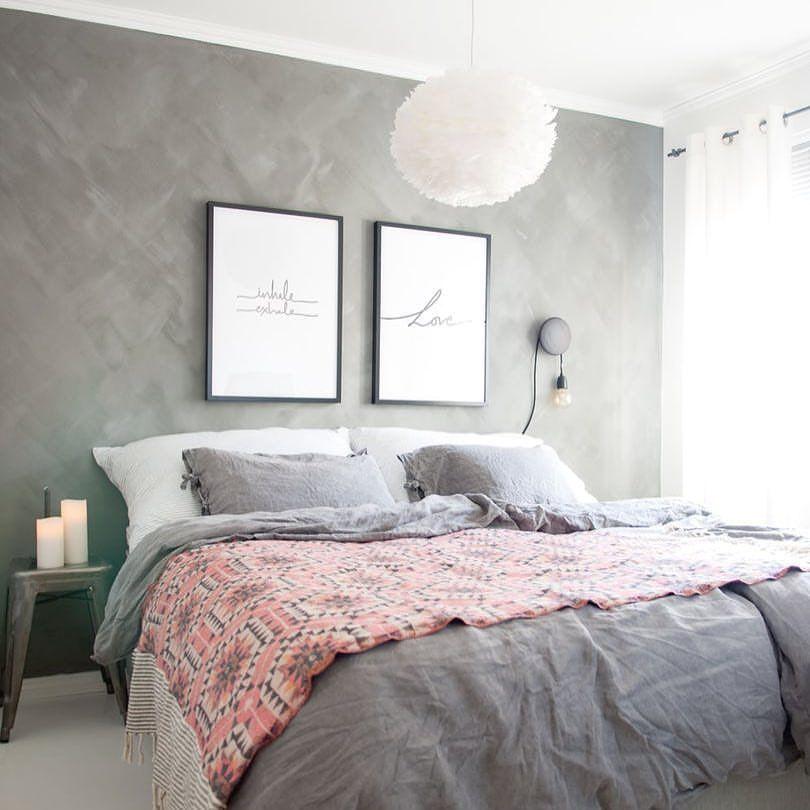 Gray bedroom charming bedrooms pinterest habitaci n - Decoracion habitacion individual ...