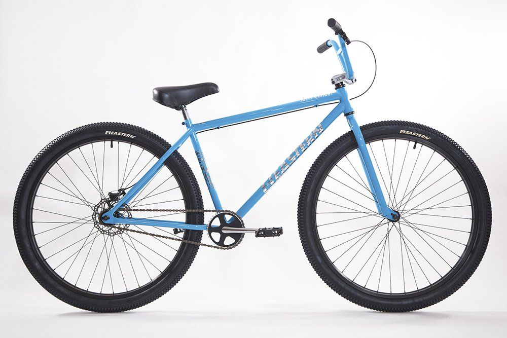 "Eastern Bikes Growler 29"" Cruiser Bike Blue (With images"