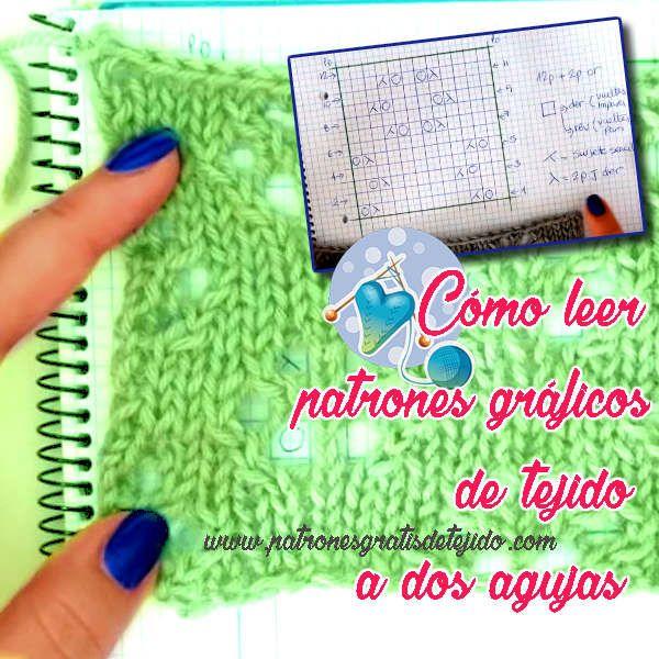 como leer patrones graficos de tejidos con palitos | Calceta ...