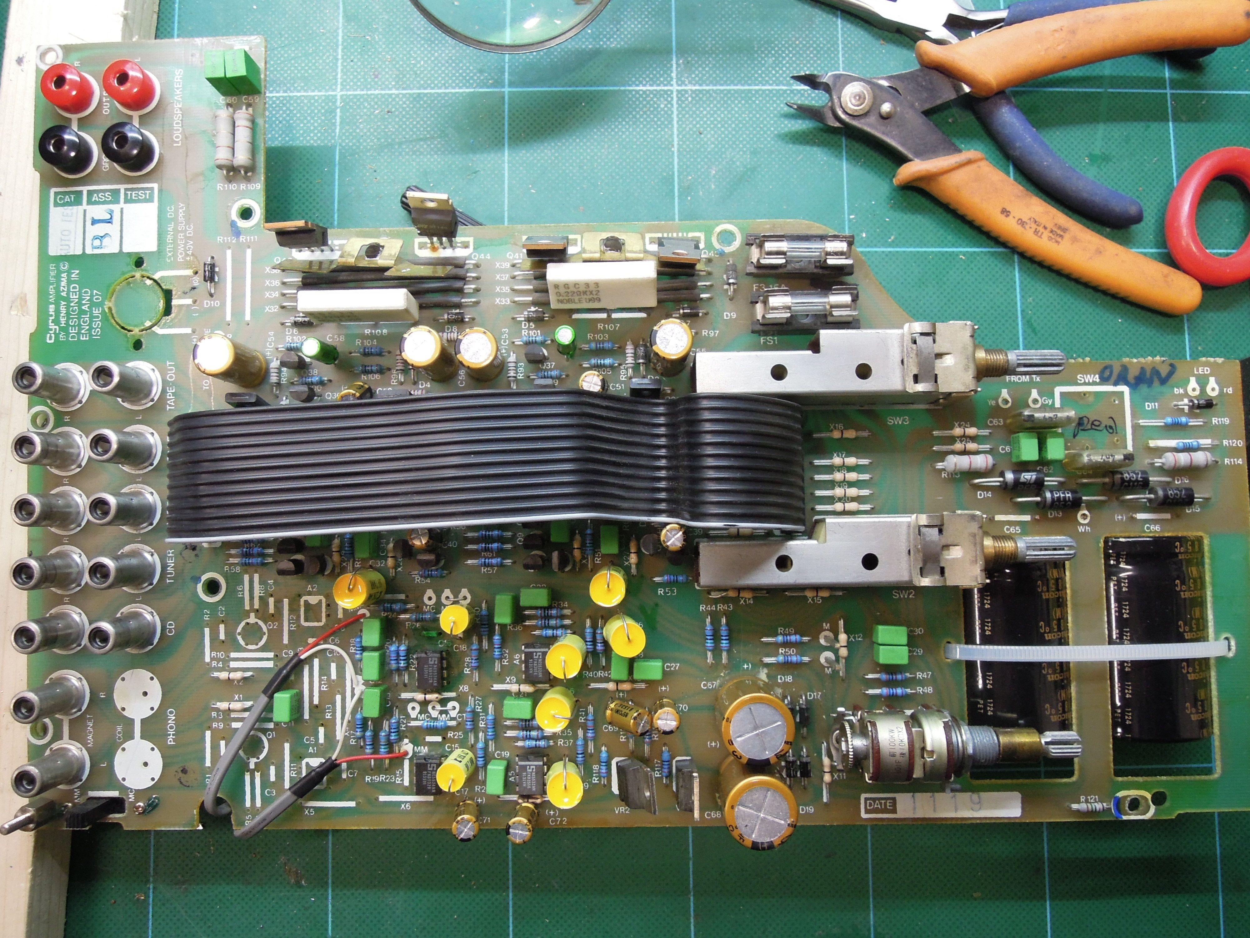 Schemi Elettrici Hi Fi : Mission cyrus upgrade restoring vintage hifi repair