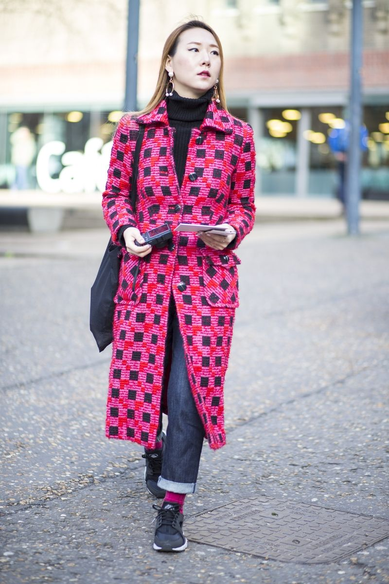 Check out the gallery of the street style looks from London Fashion Week Winter 2017.