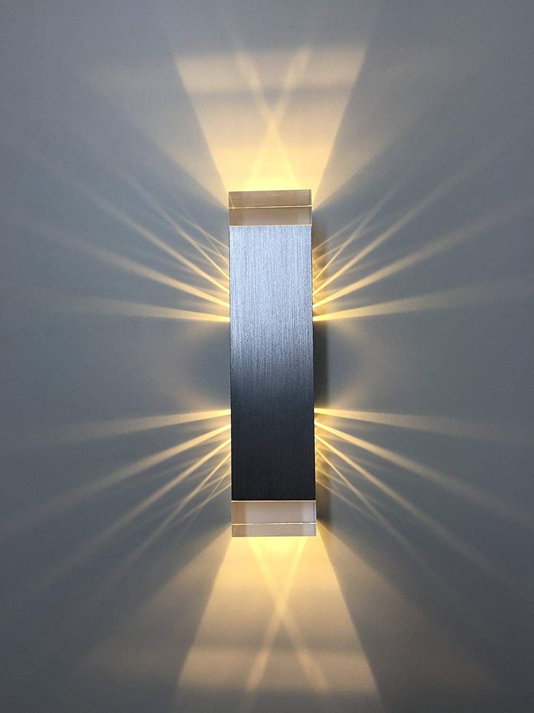 Spiceled Wandleuchte Shineled 6 2x3w Warmweiss Schatteneffekt High Power Led Wandlampe Dimmbar Amazon De Kuche H Wandleuchte Beleuchtung Led Dimmbar