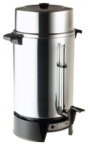 West Bend 33600 100 Cup Commercial Coffee Urn By West Bend Http Www Amazon Com Dp B00004rc6s Ref Cm Sw R Pi D Coffee Urn Coffee Making Machine Easy Cleaning