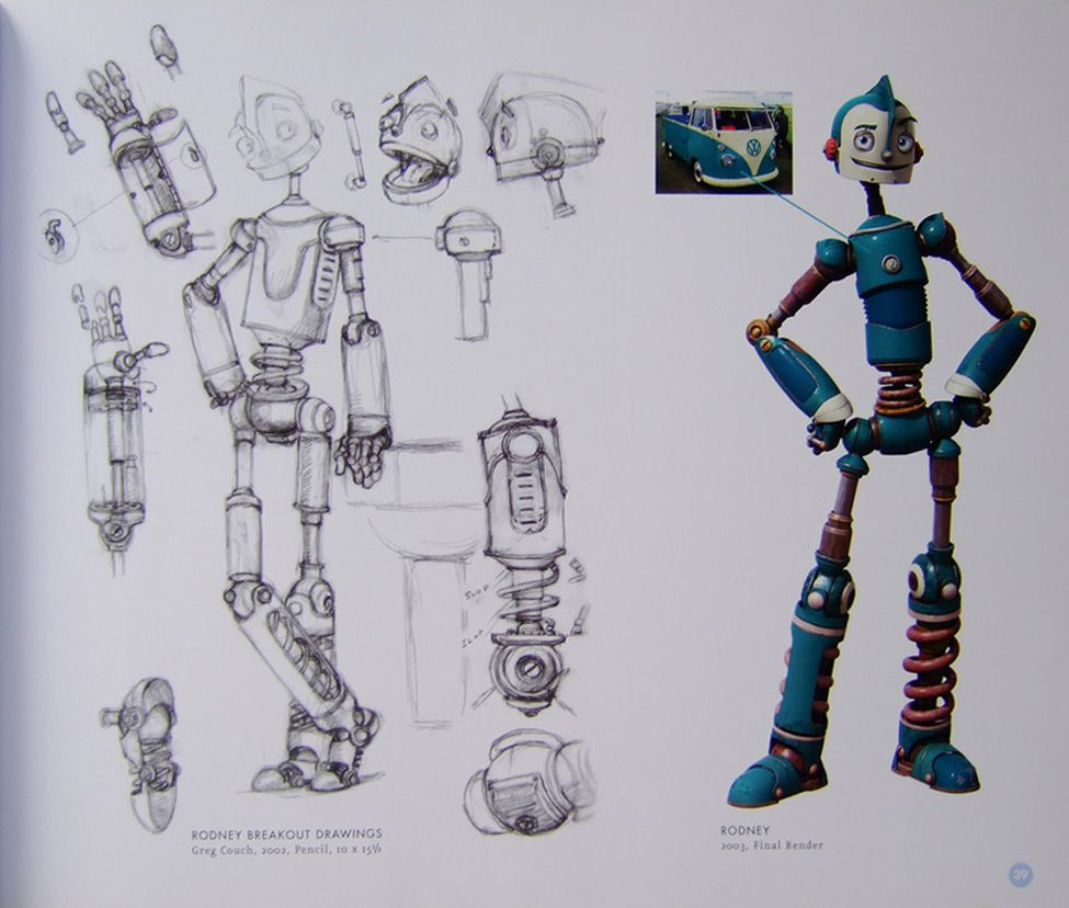 Art Of Animation Robots Characters Character Design Animation Retro Robot