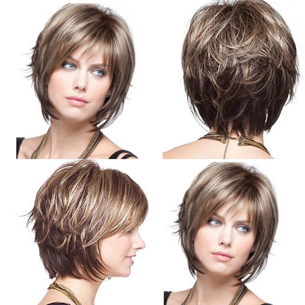 Nomeni Fashion Women's Sexy Full Wig Short Wig Ful