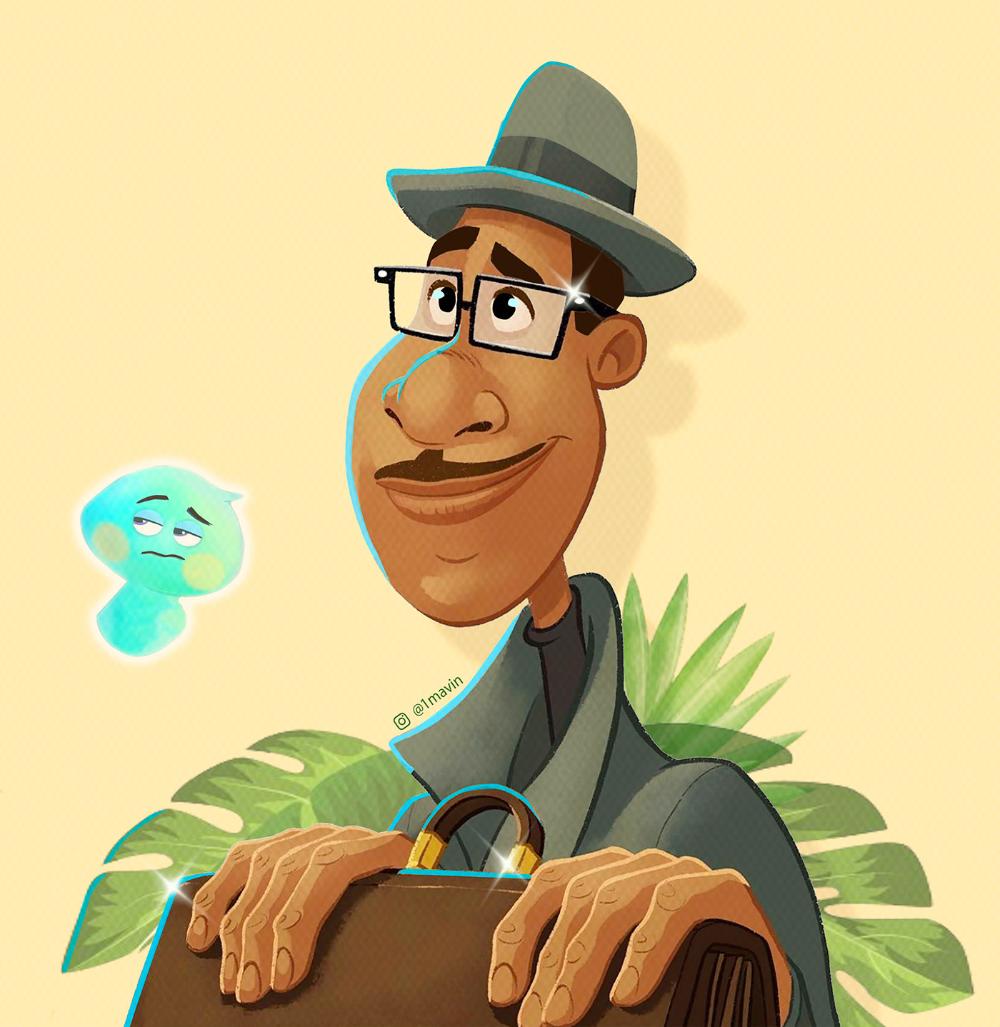 SOUL - Pixar Movie 2020 (Digital Illustration)
