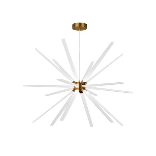 Lbl lighting photon 18 light led sputnik chandelier