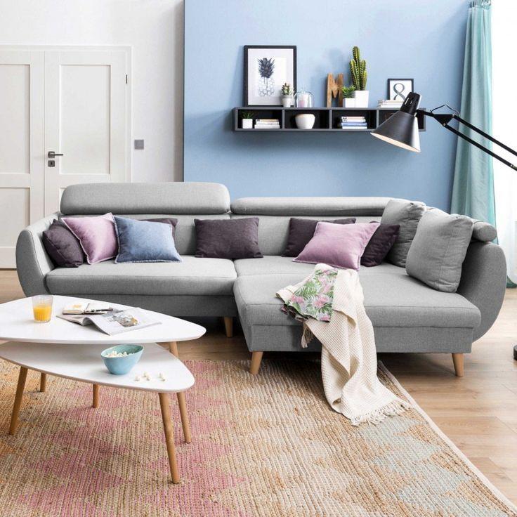 Corner Sofa Oslo Gray Fabric Cheap At Segmuller Cheap Corner