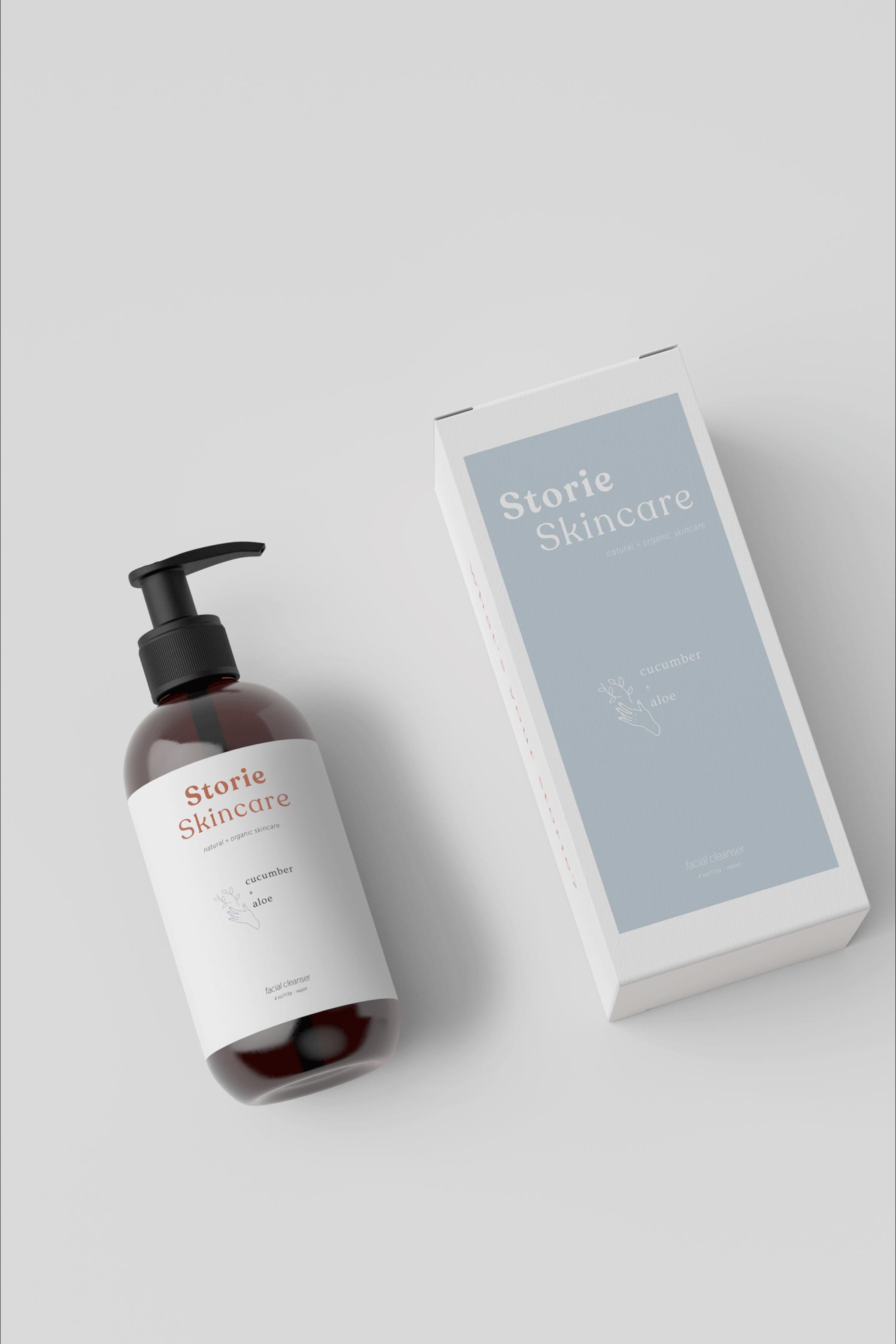 Crisp, fresh and purposeful packaging design for organic