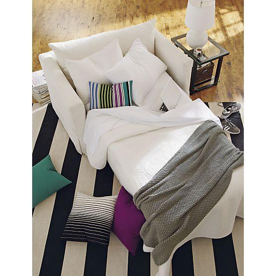 Shop Index | Crate And Barrel. CratesTwin Sleeper ChairSleeper ...